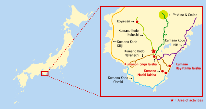 Mufg conservation of the unesco world heritage site on the kii map image gumiabroncs Choice Image