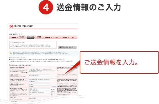 外国送金Webサポート
